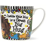 Brownlow Gifts Suzy Toronto Ceramic Mug, Hug In A Mug