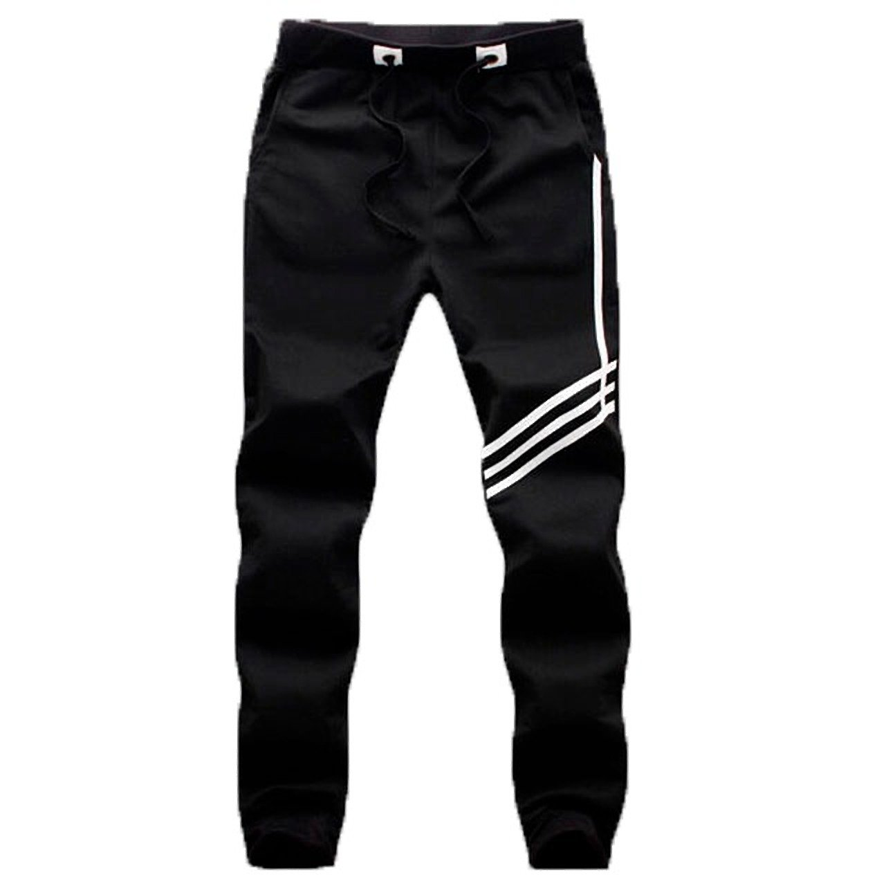 0d7ab85889404 PFlex Men's Soccer Training Pants – Tapered fit Joggers– Zippered Pockets –  Comfortable Sweatpants –