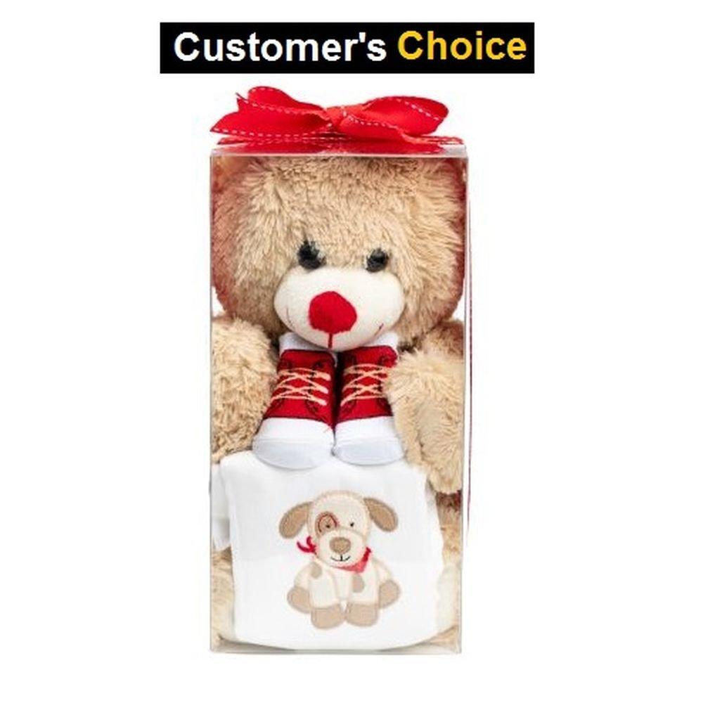 Amazon Com Emenar Baby Boy Teddy Bear Gift Set With Teddy Bear