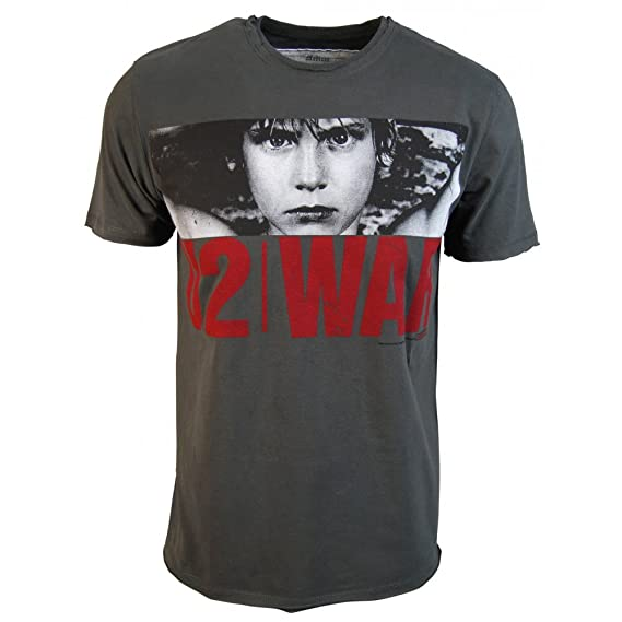 Amplified - Hombre u2 war camiseta