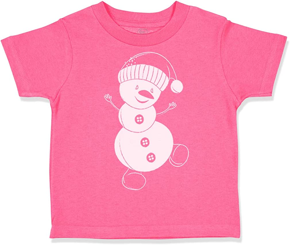 Custom Toddler T-Shirt Christmas Xmas Chalk Snowman Santa Boy /& Girl Clothes