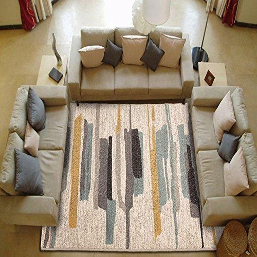 ZZHF Alfombra Ambiental Nylon Lavado Alfombra Dormitorio Sillas Mesita de Noche Alfombras Tamano Opcional alfombras de habitacion (Color : B, Tamano : 133 * 190cm)