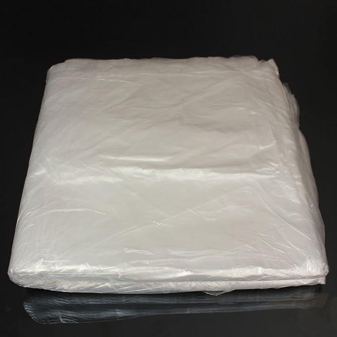 rollo de v/álvulas mec/ánicas 100 fundas desechables de pl/ástico para asiento protector de asiento impermeable Keenso de pl/ástico desechable