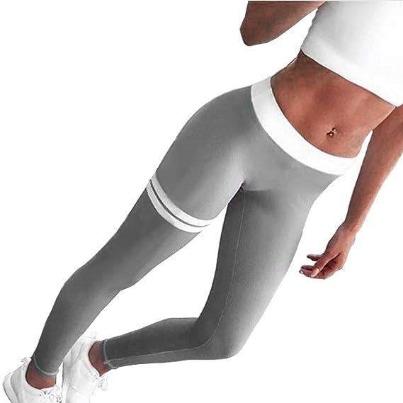 Pantalones Yoga Mujeres, ❤️Xinantime Ropa Deportiva Mujer Pantalones de Yoga Mujer Flaca Polainas Ropa