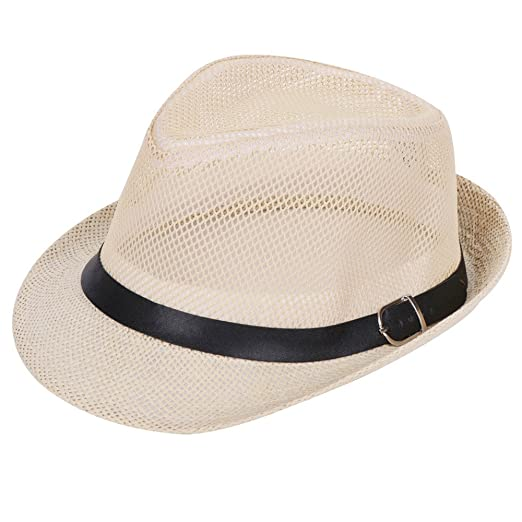 Image Unavailable. Image not available for. Color  Women Men s Classic Fedora  Hat with Band ... 8491308368e9