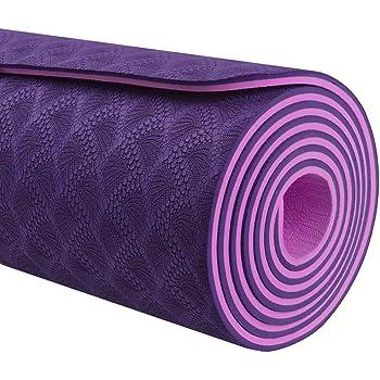 Body Fit BF-yM06TX-MD Tapete de Yoga High End 6mm  Amazon.com.mx ... 7851ddbbeb6e