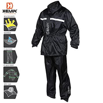 HEVIK Traje Impermeable, Multicolor, M
