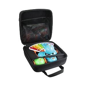Hermitshell Hard Case fits Wonder Workshop Dash Robot + Dot Robot Wonder Pack + Xylophone + Launcher