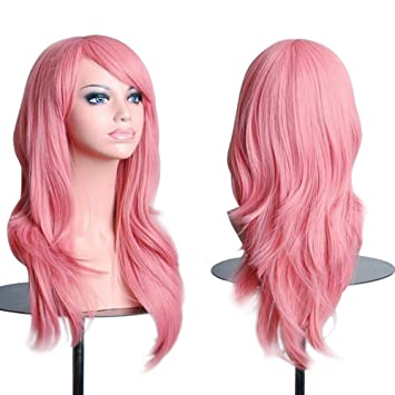 cheapest price many fashionable incredible prices Cosplay Wigs Pink 28