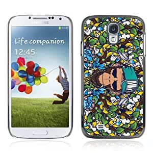 Designer Depo Hard Protection Case for Samsung Galaxy S4 / Badass Graphiti Monkey Pattern