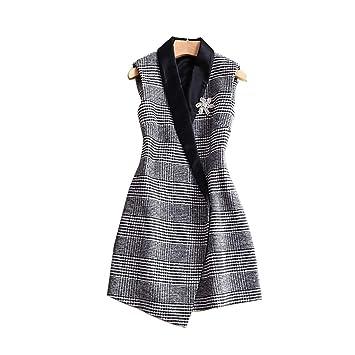 Tricot Pour De V À Costume Laine En Femmes Gilet Col hCstQrd