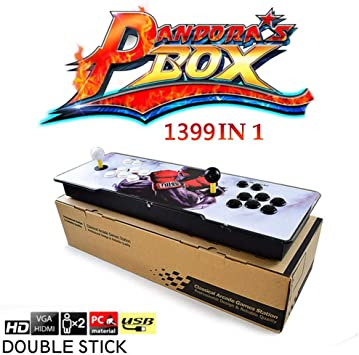 ehind Arcade Retro Video Game Consola 1388 en 1 Caja de Pandora 6s ...