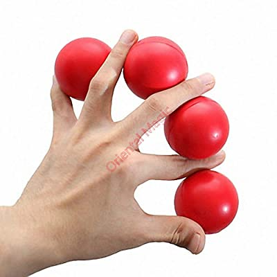 Multiplying Balls 4.5 cm Magic Tricks , Party Tricks, Amazing Tricks , Magic Kit,Stage Magic (Red): Toys & Games