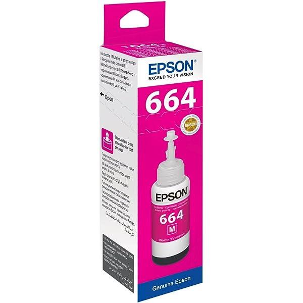 Epson T6643 cartucho de tinta Magenta - Cartucho de tinta para ...