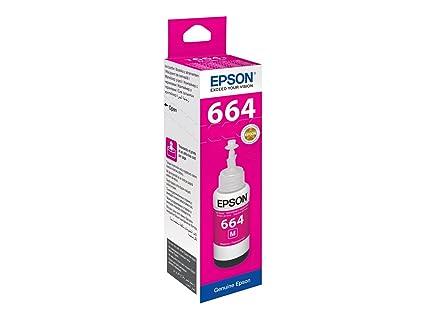 Epson T6643 cartucho de tinta Magenta - Cartucho de tinta para impresoras (Original, Tinta a base de pigmentos, Magenta, 1 pieza(s), Epson ...