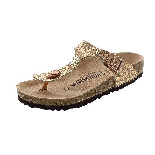 Birkenstock Gizeh BS 1005674 - Metallic Stones Copper  Amazon.es  Zapatos y  complementos 9feba323a2a