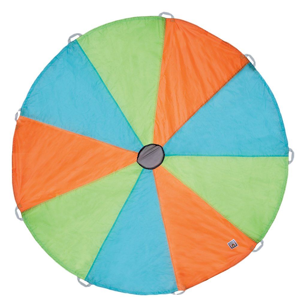 Pacific Play Tents Kids Funchute II 6 Foot Parachute with Handles for Indoor / Outdoor Fun