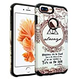 iPhone 8 Plus Case, DURARMOR Harry Potter Deathly...