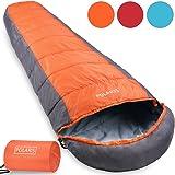 "Mountaineer® Sleeping Bag ""Frozen Mummy"" All Season Hiking Camping Trekking Festival Compression Bag - Colour Choice"