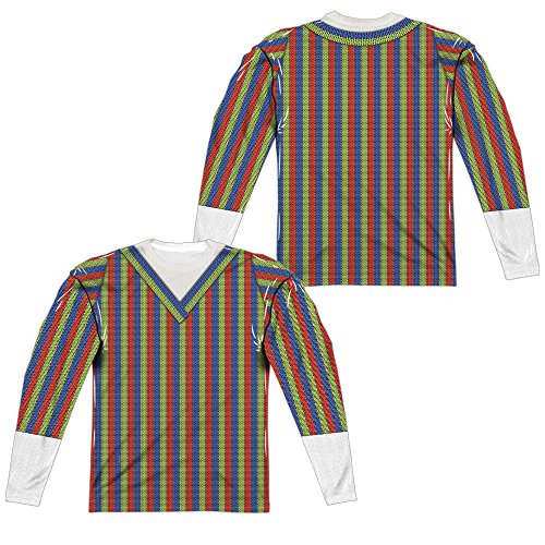 Sesame Street - Bert Costume Adult Long Sleeve T-Shirt 2XL ()