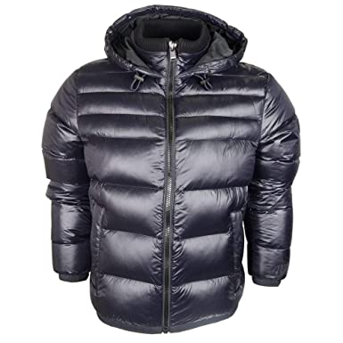 4a7d3bfa BOSS Hugo Darko 02 Navy 480 Zip Up Puffer Jacket 50393861: Amazon.co.uk:  Clothing