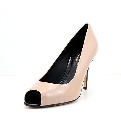 966795b8873795 GIORGIO REA Handmade in Italy Women s Shoes decolletè Open Toe Heel 10 cm. Genuine  Leather Elegant Party Ceremony peep Toe  Amazon.co.uk  Shoes   Bags