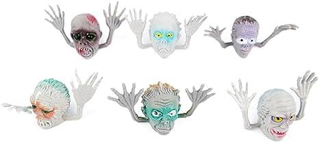 6 piezas de juguete de estilo de miedo fantasma interesante ...