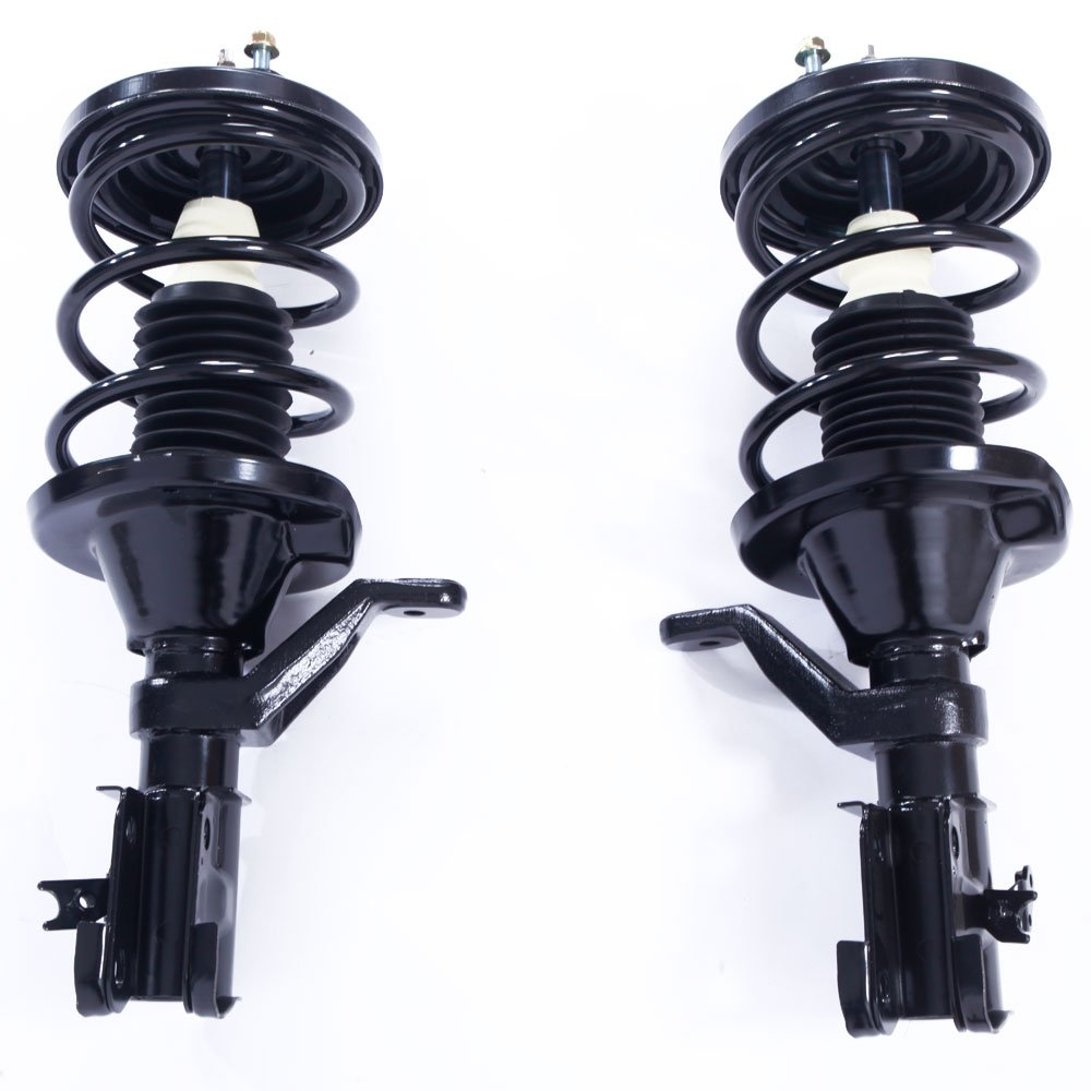 MILLION PARTS Front Driver & Passenger Side Complete Strut & Coil Spring Assembly for 2003 2004 2005 Honda Civic