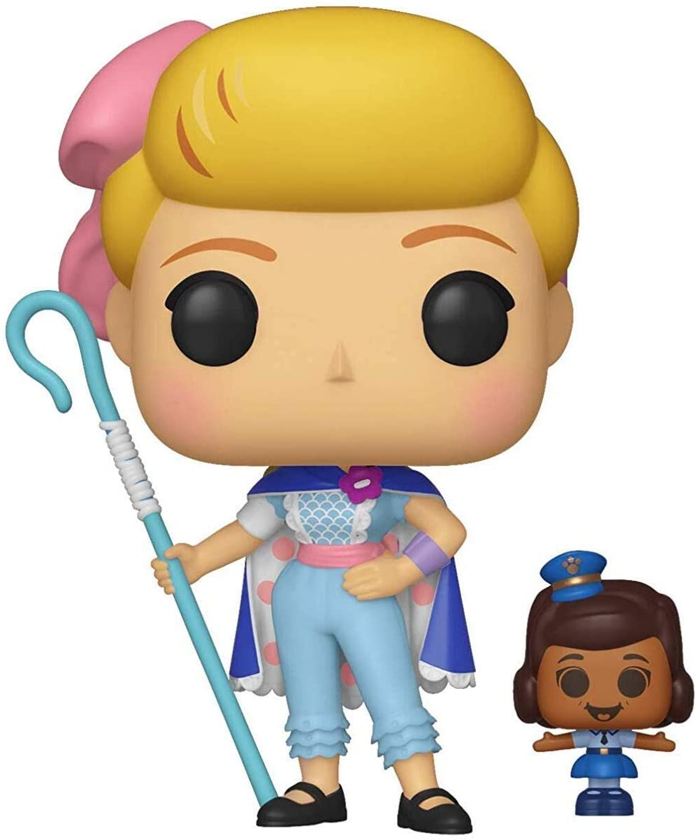 Funko- Pop Vinilo: Disney: Toy Story 4: Bo Peep w/Officer McDimples Figura Coleccionable, Multicolor, Talla única (37391)
