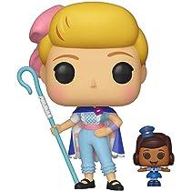 Funko Pop! Vinilo: Disney: Toy Story 4: Bo Peep w/Officer McDimples, Multicolor, Talla única: Amazon.es: Juguetes y juegos