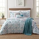 Jennifer Adams Home 7 Piece Comforter Set, Full/Queen, Lancaster