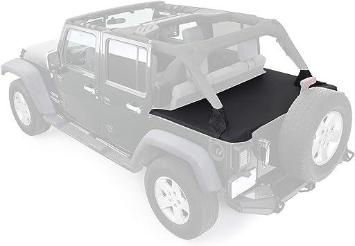 Smittybilt Tonneau//Cargo Cover in Black Diamond 2007-2018 4dr Jeep Wrangler JK