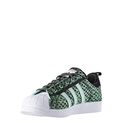 meilleure sélection a0efd 24813 adidas Originals Baskets Superstar Glow Vert Homme: Amazon ...