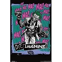 Trends International RP13262 Joker Die Laughing Wall Poster