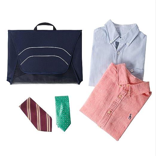Bolsa de almacenamiento de viaje Portátil colgando de la corbata y ...