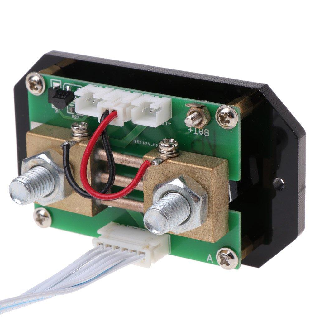 Negro xurgm inal/ámbrico LCD Pantalla digital volt/ímetro Amper/ímetro DC 120/V 100/A//200/a//gpa-300/a//ql500/corriente Voltaje Monitor de Power Energy/ /Mult/ímetro con integrado Shunt