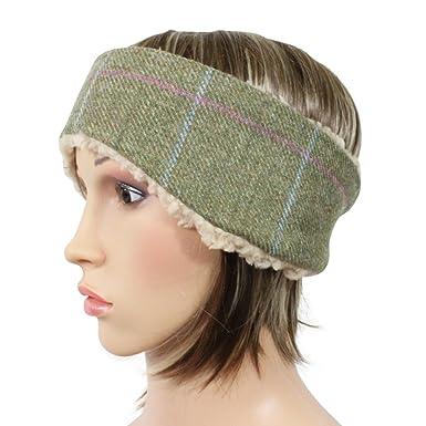Tweed Headband Earwarmer Riding Ski Band Amazon Clothing