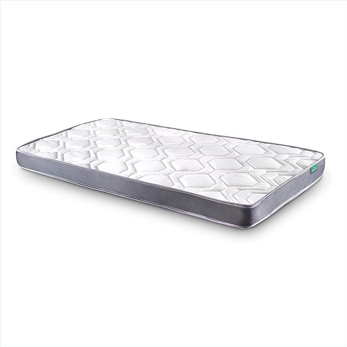 Dreaming Kamahaus Colchón Damas | Reversible | Fibras Hipoalerénicas y Soft Foam | Transpirable | ±12 cm altura | 80x180 cm
