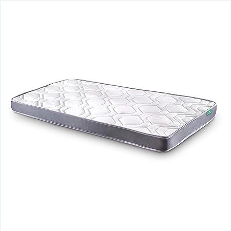 Dreaming Kamahaus Colchón Damas | Reversible | Fibras Hipoalerénicas y Soft Foam | Transpirable | ±12 cm altura | 67.5x180 cm