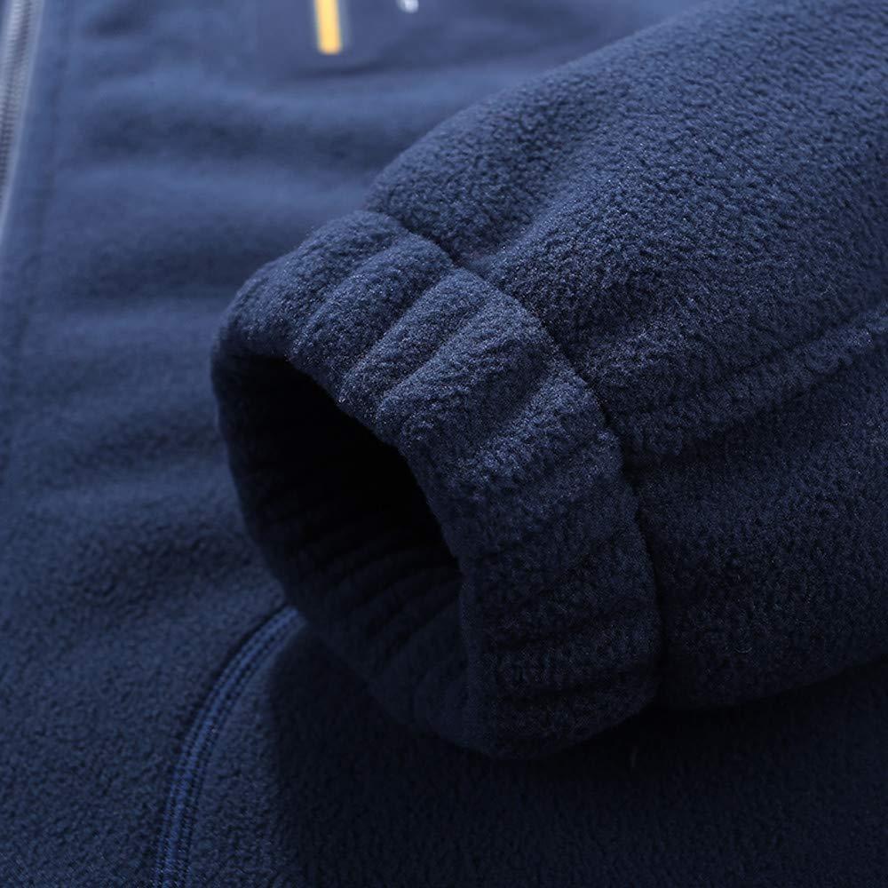 Allywit Mens Mountain Waterproof Ski Jacket Outdoor Windproof Snow Jacke Fleece Coat