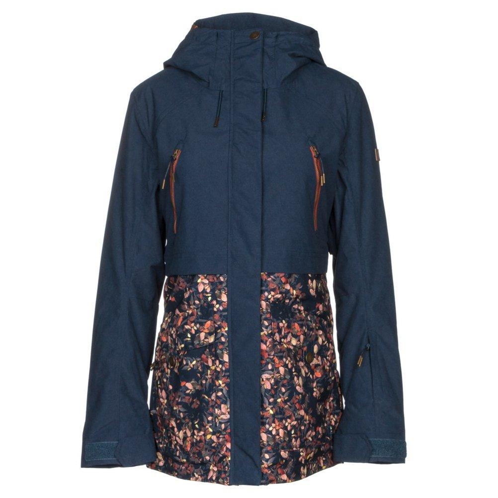 RoxyレディースRoxy Tribe – Snow Jacket for Women erjtj03120 Peacoat_Waterleaf XL