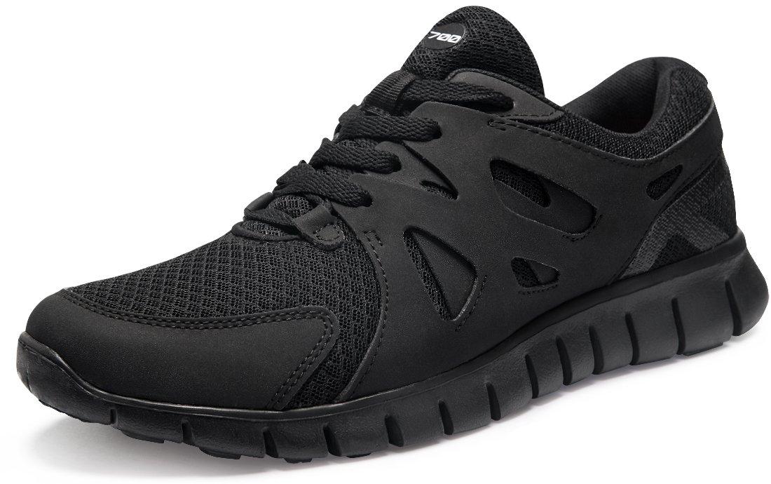 Tesla Men's Lightweight Sports Running Shoe X710/X700/E630 Men 10 D(M)|B X700-BKO