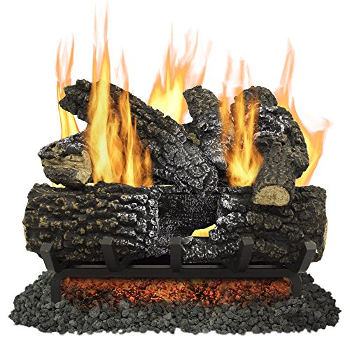 "Pleasant Hearth 18"" Arlington Ash Vented Gas Log Set 45,000"