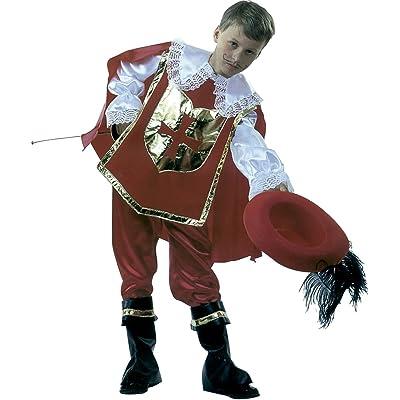 Rubie's–Déguisement de mousquetaire D 'Artagnan avec Chapeau, pour enfant, taille M (s8111-m)