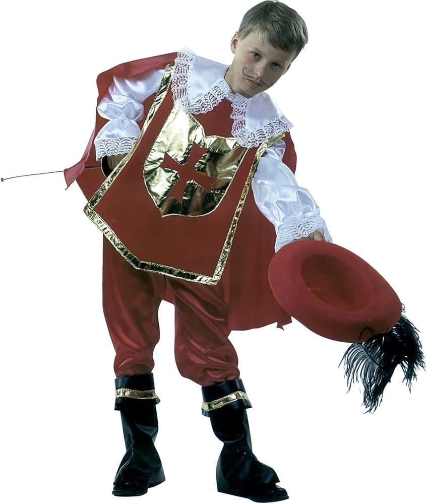 Rubies - Disfraz de mosquetero DArtagnan, con sombrero, para ...