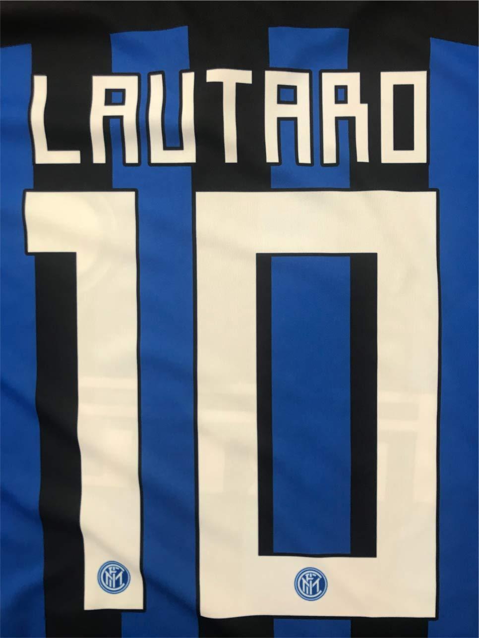 Camiseta Jersey Futbol Inter F.C Lautaro Martinez Replica Oficial ...