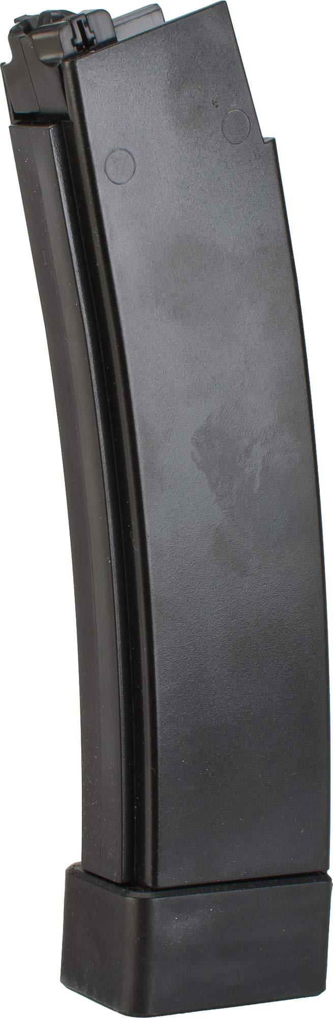 Evike ASG 75rd Standard Airsoft Magazine for CZ Scorpion EVO 3 A1 AEG - Black (Box of 3) by Evike