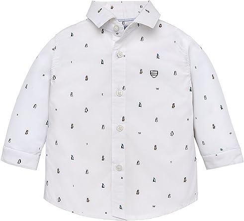 Mayoral 18-02130-024 - Camisa para bebé niño 24 Meses: Amazon.es: Ropa y accesorios