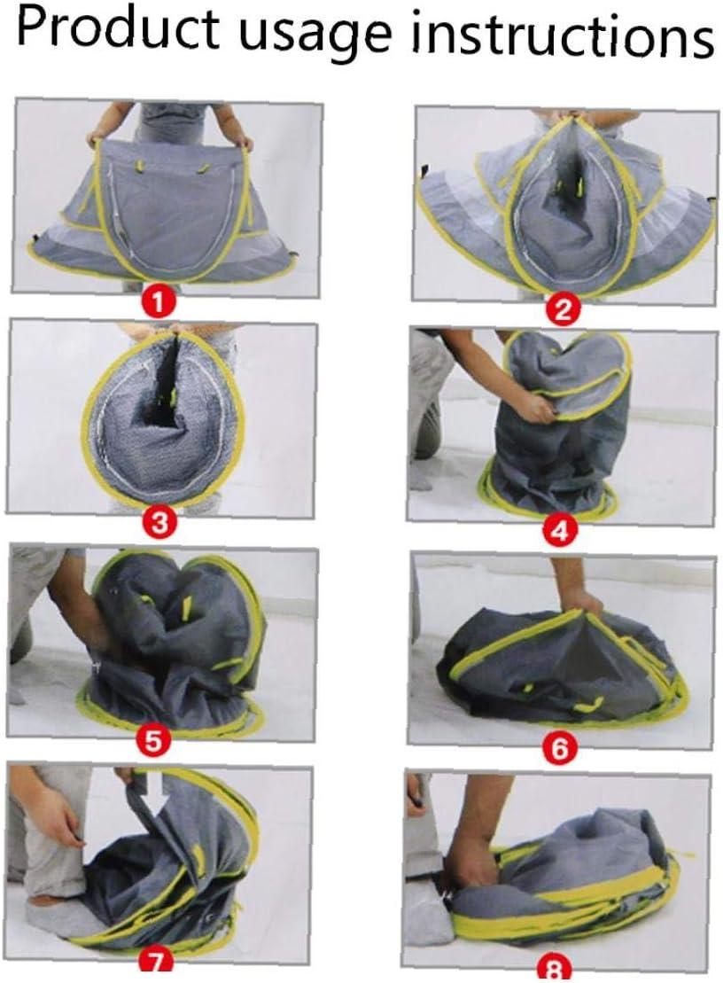 JBNS Tragbare Baby-Strand-Zelt Pop Up Cot Matratze Reisebett Folding Infant Krippe Moskitonetz Grau 1pc