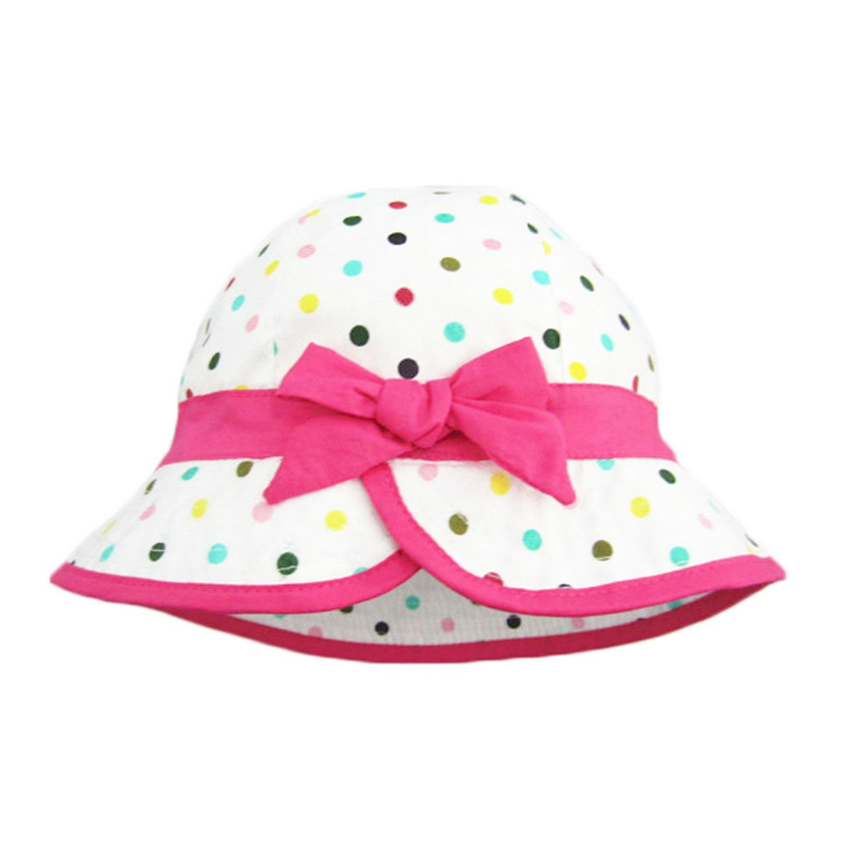 UQ Baby Girl Summer Hats Baby Sun Hats Toddler Hat(0-4T)